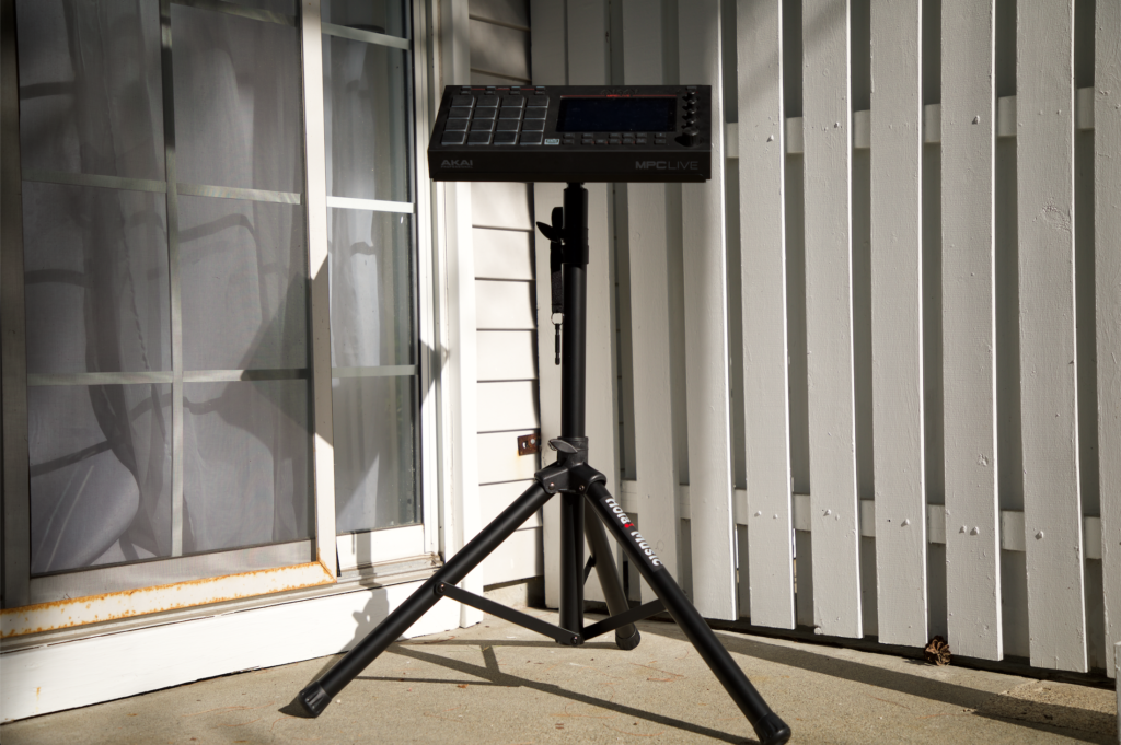 The Best Music Stand for the MPC Live | Millennial Mind Sync