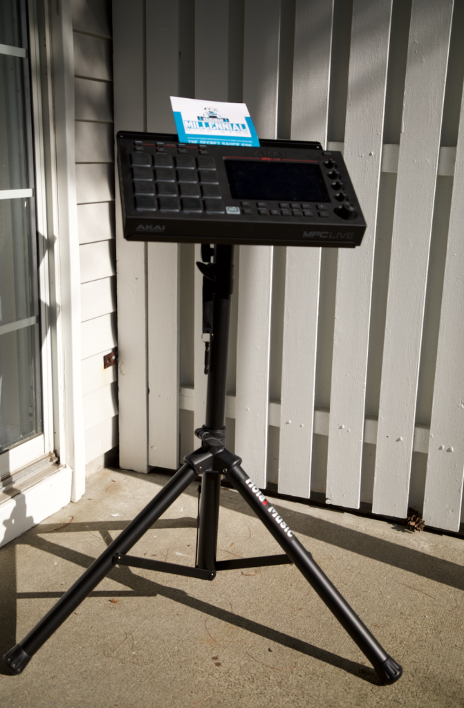 The Best Music Stand for the MPC Live   Millennial Mind Sync